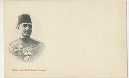 Abbas Hilmi II Khedive à Egypte  Pionneer Car Undivided Back - Egipto
