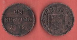 Sestino 1779 Milano Dominazione Austriaca - Temporary Coins