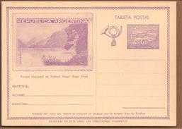 Tarjeta Postal 2c. Parque Nacional De Nahuel. Lago Frias - Postwaardestukken
