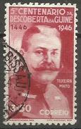 Portuguese Guinea - 1946 Discovery Of Guinea 3.50e Used   Sc - Portuguese Guinea