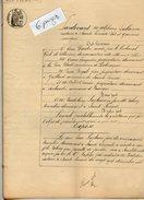 VP6821 - SAINTE LIVRADE -  Acte De 1885 - Quittance Par Divers à LAPLAINE Fils - Manuscripts