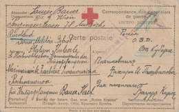 Rote Kreuzkarte Aus Russland > Wien - Österreichischer Gefangener In Russland PISCHWANOWA (prisonniers De Guerre ... - 1914-18