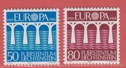 1984 ** (sans Charn., MNH, Postfrish)  Mi  837/8 Yv  778/9  ZUM  776/7 - Unused Stamps