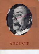 PROGRAMME FERNAND RAYNAUD - AUGUSTE- DOMINIQUE NOHAIN-MONIQUE GERARD- RENEE CARON-PAUL PREBOIST- LUCIEN BARJON- - Programs