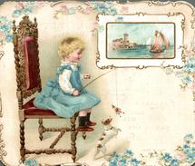 Chromos  MAGASINS DES ENFANTS PASSAGE DE L OPERA  (tout En Relief Superbe ) - Trade Cards