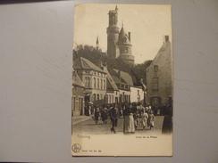 A408. CPA. BELGIQUE. ANTOING. Coin De La Place.  Beau Plan Animé. écrite & Voyagée. 1919 - Antoing