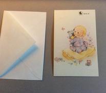 Carte Pour Annonce Ou Félicitations De Naissance ( (Avec Enveloppe) - Non Classificati