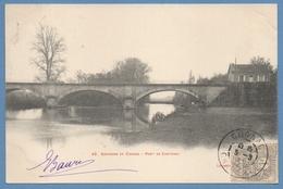 CPA  Pont De Châtenay 1903 TB  ( Non écrite Verso) - France