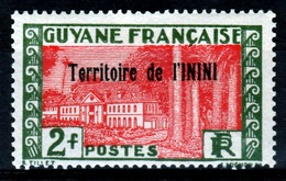 Inini (French Guiana), Cayenne, 2f., 1932, MH F  Colonial Gum, Otherwise VF - Inini (1932-1947)