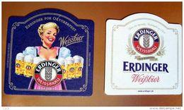 Posavasos Cerveza Erdinger. Oktoberfest. Alemania - Beer Mats