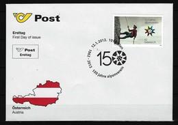 ÖSTERREICH - FDC Mi-Nr. 2974 - 150 Jahre Österreichischer Alpenverein - FDC