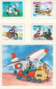 LESOTHO - 1986 - Disney - Yvert 688/691 + BF 39 Neufs ** - Lesotho (1966-...)