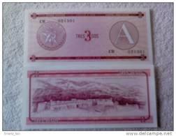 Billete Cuba. 3 Pesos. Serie A. Certificado De Divisa. Banco Nacional De Cuba. - Cuba