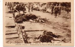 - FRANCE (89) - CPA Vierge JOIGNY - Bombardement Du Pont En 1940 Par Les Allemands (belle Animation) - - Joigny