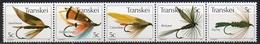 Transkei - 1980 - N° Yvert : 65 à 69 ** - Mouches Artificielles Pour La Pêche - Transkei
