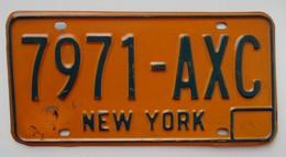 Plaque D'immatriculation - USA - Etat De New York - - Number Plates