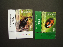 ICELAND MINT SET 2 INSECTS - Insects
