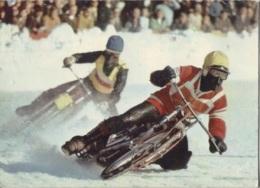 CPM - CHAMPIONNAT DU MONDE SUR GLACE - UN RUSSE EN TÊTE ... - Edition YVON - Motorcycle Sport