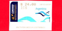 ARGENTINA - Usato - 2014 - ATM - Correo Argentino - ICS - Liniers - 24.00 - Affrancature Meccaniche/Frama