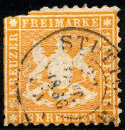 Stamp Wurttemberg 1863 18kr Used Lot57 - Wuerttemberg
