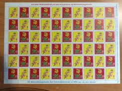 Vignette Antituberculeux - 1964 - FLEURS - Allemagne - Germany