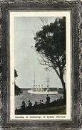 SYDNEY HARBOUR WARSHIP AT ANCHORAGE BATEAU GUERRE AUSTRALIE AUSTRALIA - Sydney