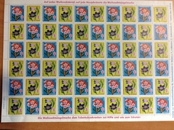 Vignette Antituberculeux - 1960 - FLEURS - Allemagne - Germany
