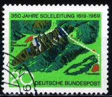 BRD - Michel 602 - OO Gestempelt (D) - 350 Jahre Soleleitung - [7] West-Duitsland