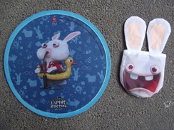 Lapin Cretin Frisbee - Video Games