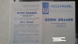 Manifestino Di Gorni Kramer E Della Sua Orchestra - Manifesti & Poster