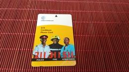 Caribbean Phonecard Used Rare - Phonecards