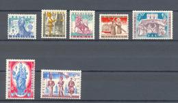 1082/1088 ANTITERING  POSTFRIS** 1958 - Belgique