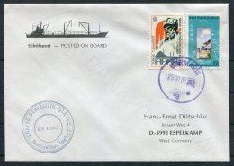 1988 Turkey Marmaris Ship Cover. M/V AKDBNIZ - 1921-... Republic