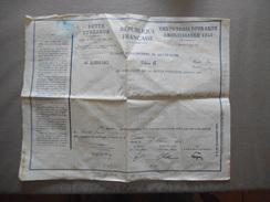 REPUBLIQUE FRANCAISE DETTE PUBLIQUE RENTE TROIS POUR CENT AMORTISSABLE 1945 - Actions & Titres