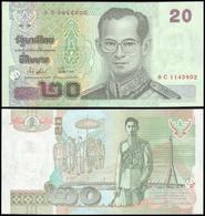 Thailand #109, 20 Baht, ND (2003), UNC / NEUF - Thailand