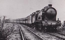 TRES BELLE PHOTO / PYRENEES COTE D ARGENT VERS 1930 / PO 3587 - Trains