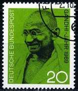 BRD - Michel 608 - OO Gestempelt (B) - Mahatma Gandhi - [7] West-Duitsland