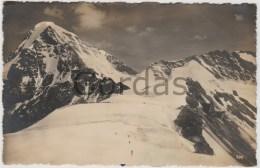 Switzerland - Jungfraujoch - Berghaus - Plateau Und Monch - Alpinisme