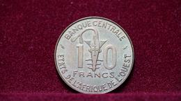 West African States 10 Francs 1981 Km#10. (inv1039) - Monedas
