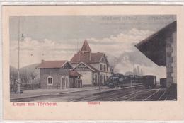 Gare De Turckheim Avec Train. - Turckheim