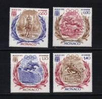 Monaco Timbres Neuf ** De 1972   N°890 A 893 - Neufs
