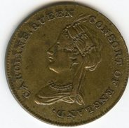 Médaille Medal Royaune-Uni United Kingdom Caroline Queen Consort Of England 1768 - Married 1795 - Royal/Of Nobility