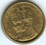 Médaille Royaune-Uni United Kingdom Georges VI - Elizabeth - Coronation Medal 1937 - Royaux/De Noblesse