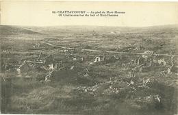 Militaria Cpa Guerre 1914 1918 Verdun 2 Cartes Chattancourt ( Chattaucourt ) Mort Homme Monument - Guerre 1914-18