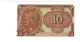Cecoslovacchia Ceskoslovensky 10 Corone Desat Korun - Cecoslovacchia