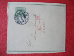 Danemark Danmark Entier Stationary Ganzsache Bande Journal - 1864-04 (Christian IX)