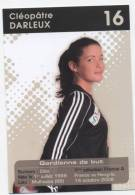 "HANDBALL L 5  ""  CLEOPATRE  DARLEUX  ""   ""EQUIPE DE FRANCE FEMININE  2009   ""    CPSM   10X15 - Handball"