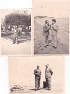 FORMIA - LATINA - LOTTO DI 3 FOTO DEL 1957 CON DIDASCALIA SUL RETRO - Luoghi
