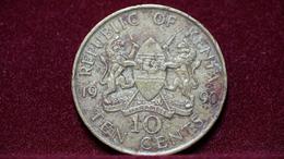 Kenya 10 Cents 1990 Km#18. (inv854) - Kenya