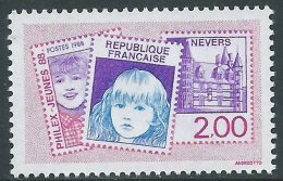 1988 FRANCIA PHILEX JEUNES 88 MNH ** - P32-3 - France